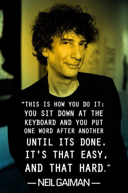 Happy birthday Neil Gaiman...