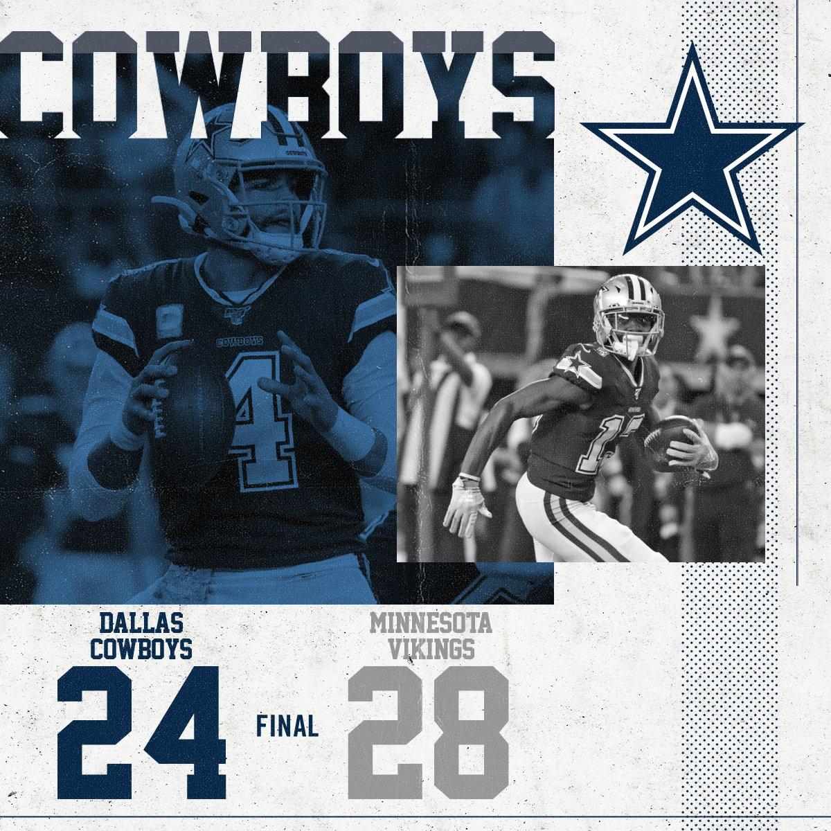 Final #MINvsDAL | #DallasCowboys