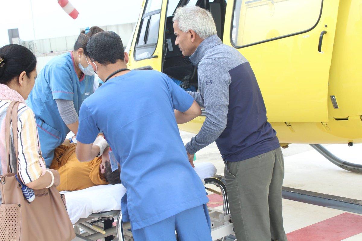 Some Collection Of Heli Rescue In HAMS Hospital.#HAMSHospital#PreHospitalCare#HEMS#KathmanduNepal