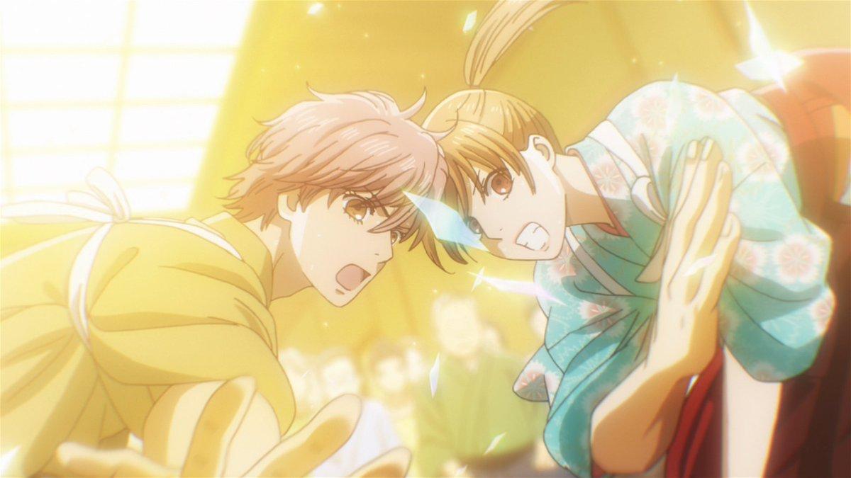✨ありがとうございました✨第六首をご覧いただいた皆様、ありがとうございました!いつもと違う太一のかるた。でも二人はこれまでの中で一番と言える試合展開をみせています!試合結果は次週!!お見逃しなく🔥#chihaya_anime