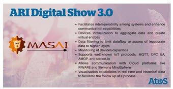 No te pierdas la presentación del #shuttle de #AtosResearchandInnovation, #MASAI, un software e...