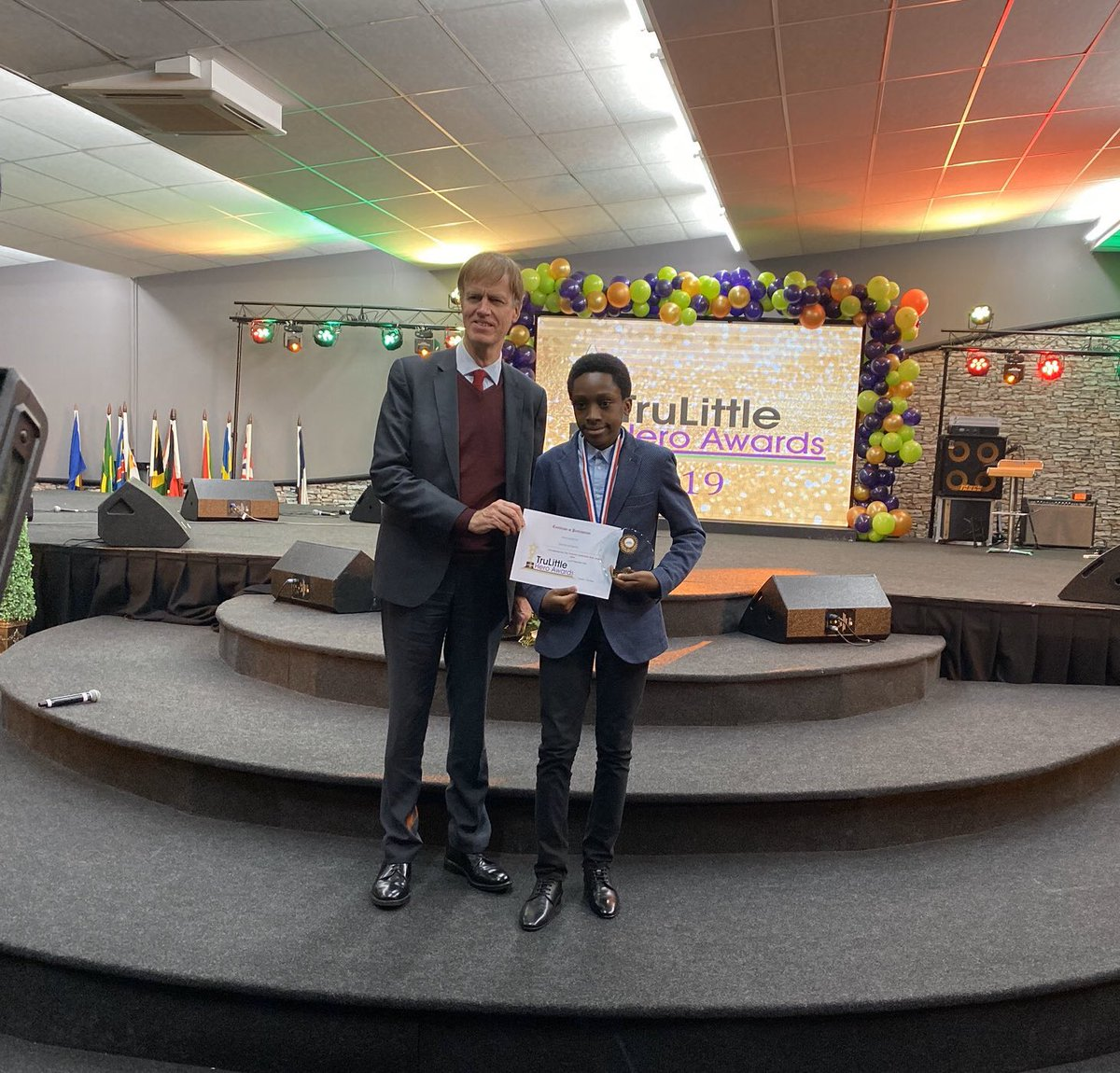 12-year-old Nigerian boy based in the UK, Chika Ofili, has been presented with a Special Recognition Award for making a new discovery in Mathematics. The little Mathematician just discovered a new formula for divisibility by 7 in Maths.