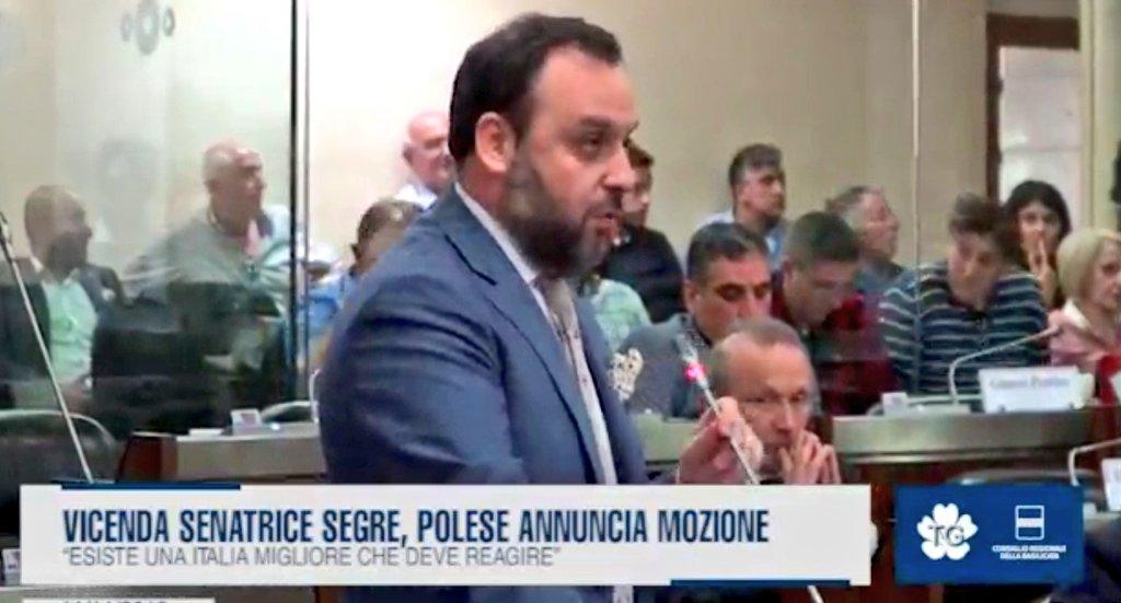 Vicenda senatrice Segre, @MarioPolese annuncia moz...