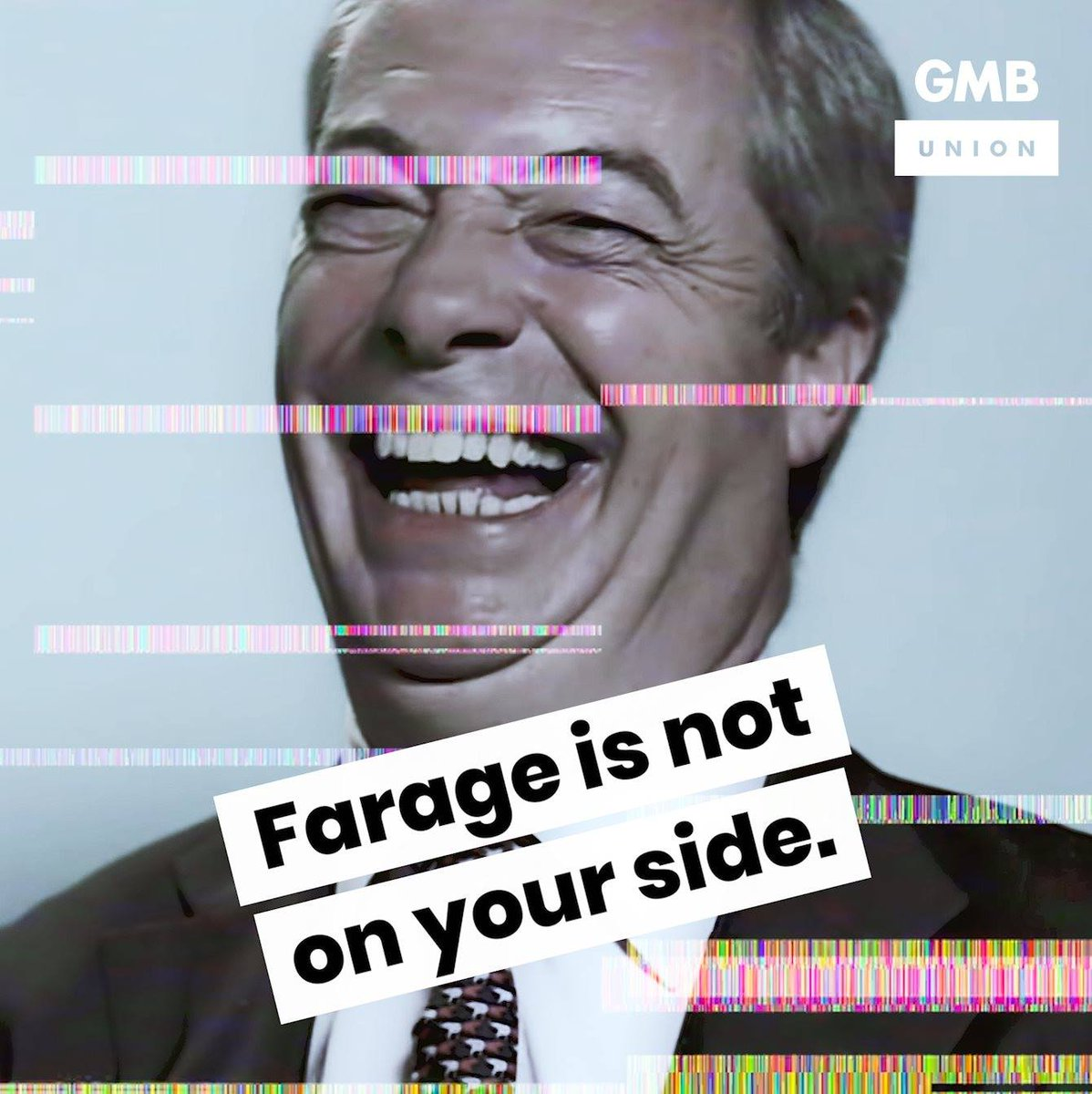 Image for the Tweet beginning: Listen to what Farage is