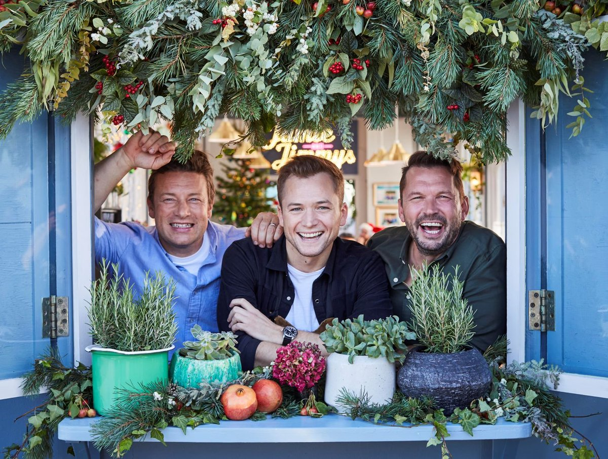 Also joining Jamie & Jimmy at the #FridayNightFeast kitchen in the new series starting next month are @ClaudiaWinkle @OfficialMelB @joelycett @robbeckettcomic @TheRealJackDee @amirkingkhan plus a Christmas special with @TaronEgerton channel4.com/press/news/ant…