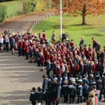 At 11am this morning, the whole school gathered together in remembrance. #LestWeForget #ArmisticeDay #Remembrance2019
