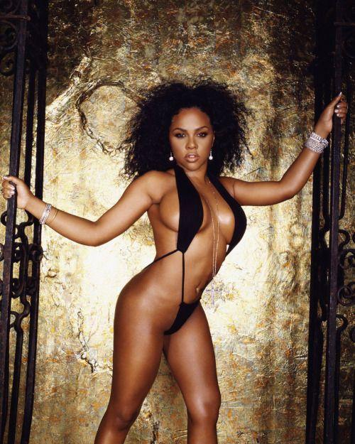 Sexy ebony celebrity