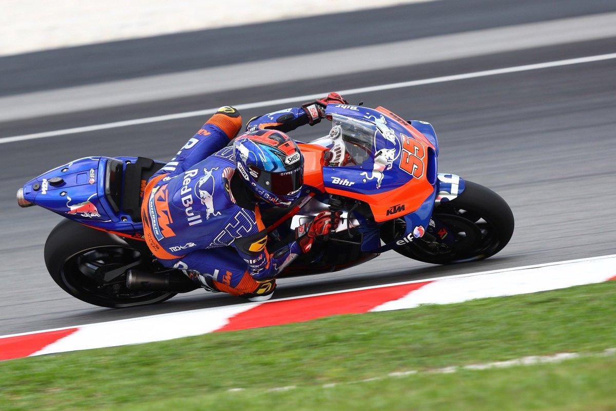 Syahrin geared up for final round of 2019 - Lecuona takes over from Oliveira 👉🏻 bit.ly/2HdNMkv #KTM #Tech3 #ValenciaGP #MotoGP @MotoGP #HS55 #IL27 #MO88 #RedBullKTMTech3