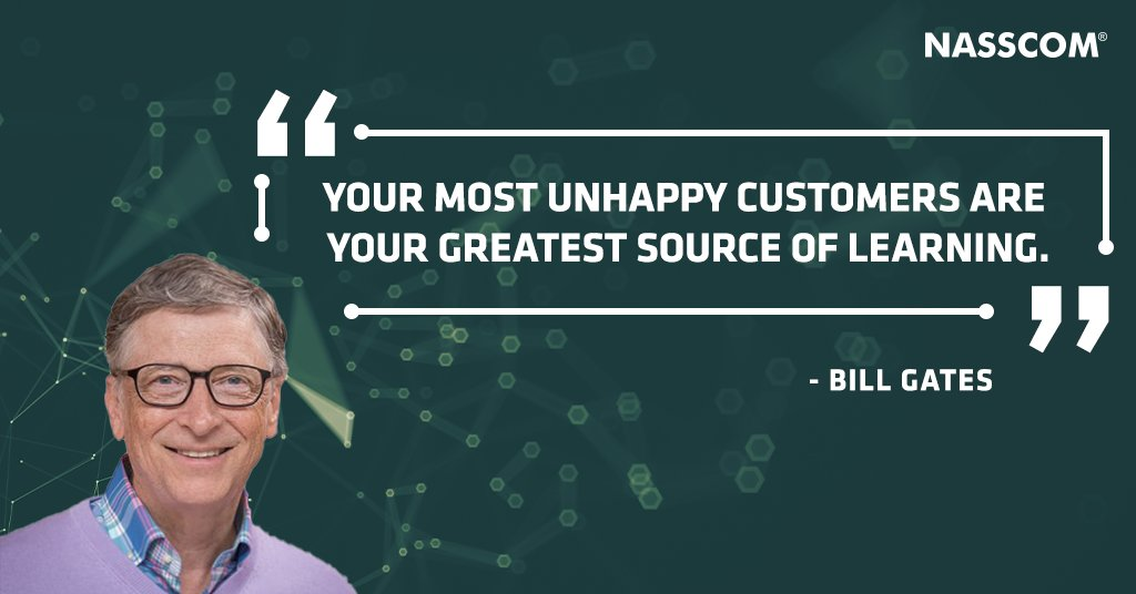 The trick is to truly understand your customers and their needs.#MondayMotivation @BillGates