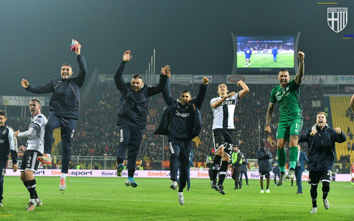 Il Parma ha vinto quattro delle ultime cinque gare casalinghe di @SerieA #StatsCrociate #ParmaRoma