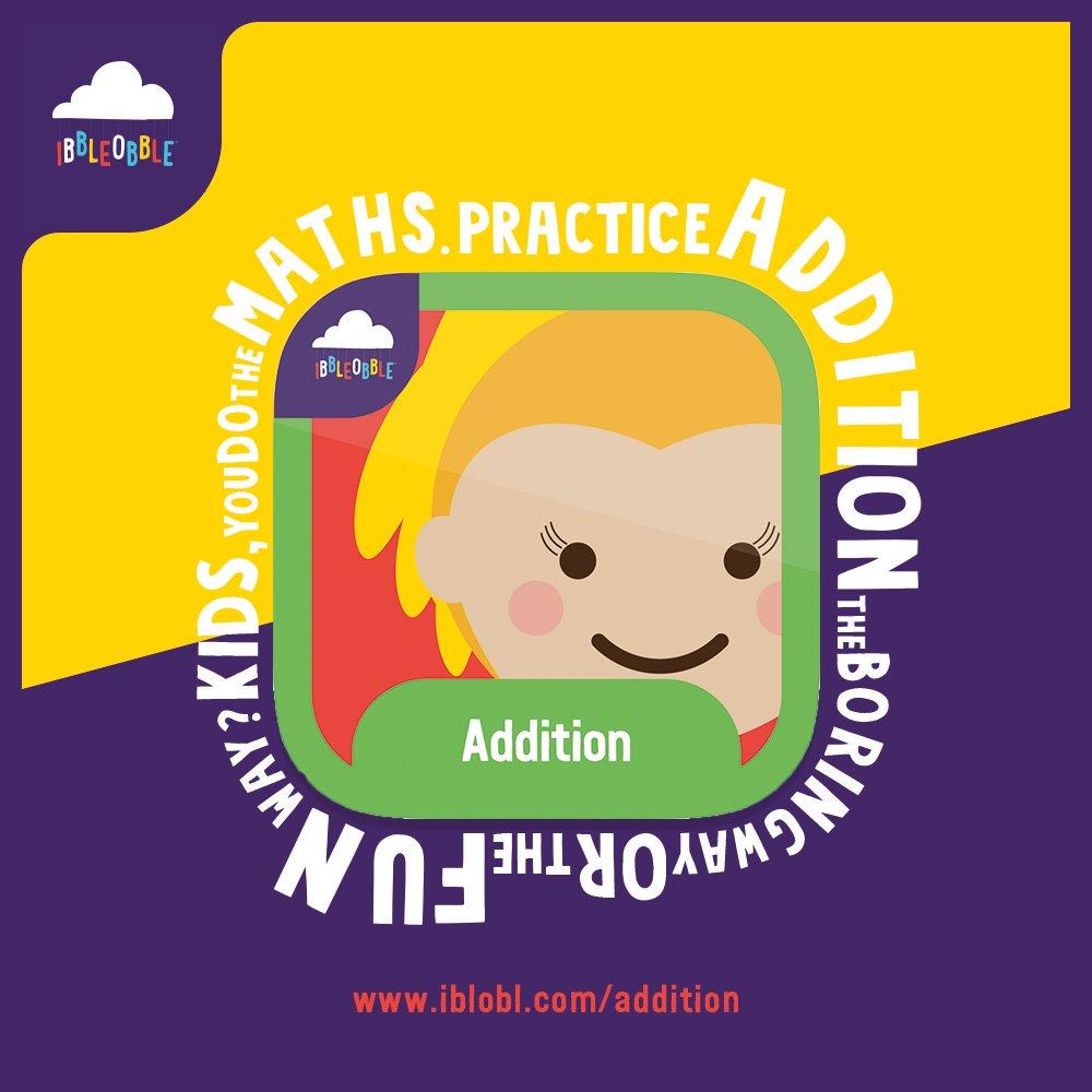 #Practice  #addition  the #FUN  way! You do the #Maths !   https://buff.ly/2JriiqQ    #Games  #App  #Apple  #mathematics  #MathICanUnderstand  #mathchat  #MathGames  #School  #BackToSchool  #Add  #Adding  #MathsChallenge  #SundayThoughts  #SundayMorning  #SundayFunday  #SundayFeeling