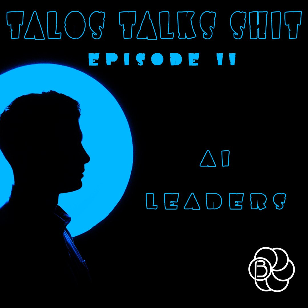 Its Monday again , and you know what that means.⁠⁠NEW TALOS TALKS SHIT OUT NOW ⁠⁠The third in our series looking at AI leaders.⁠⁠In this episode we start to look at OpenAi and how they are advancing the field.⁠⁠#BlendedPodcasts #TalosTalksShit⁠