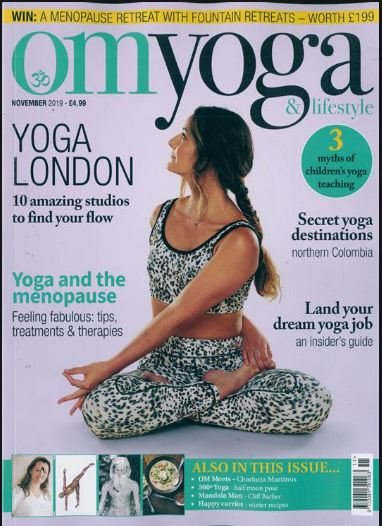 Have you picked up your copy of @OMYogaMagazine yet?  This issue is packed full of tips to help you find your flow this Christmas. Plus we're hiding in the back😉  #yoga #gifting #giftsforhim #vegan #fitness #vegangains #plantbased #yogi #wellbeing