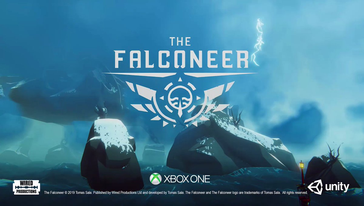 #TheFalconeer 🦅 flys to @Xbox in 2020!Watch the trailer in 4K widescreen: http://youtu.be/94dIpbxlj6A Play it at #X019 this week!Follow @FalconeerDev!#XboxOne #X019 #IndieDev #IndieGame