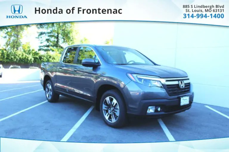 Take on more adventure in this New 2019 #HondaRidgeline RTL Crew Cab from #HondaOfFrontenac!