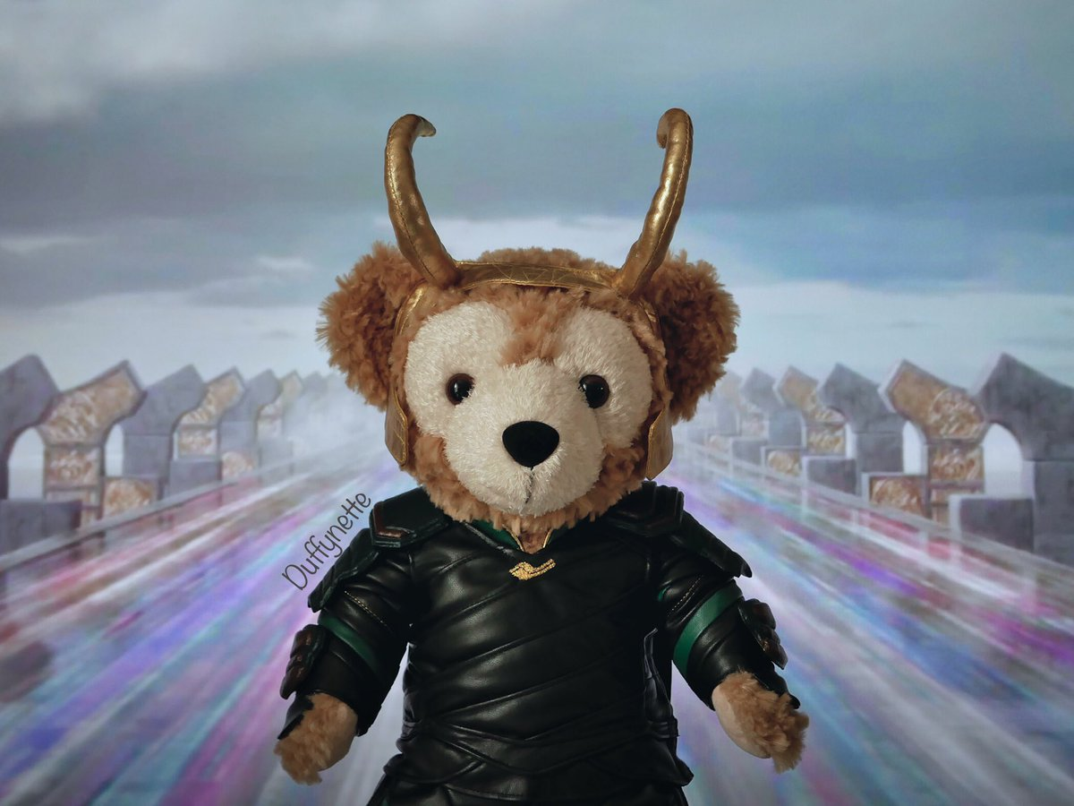 « 𝓨𝓸𝓾𝓻  𝓼𝓪𝓿𝓲𝓸𝓻  𝓲𝓼  𝓱𝓮𝓮𝓮𝓮𝓮𝓮𝓮𝓻𝓮 ! »  #Loki #DuffytheDisneyBear #ThorRagnarok