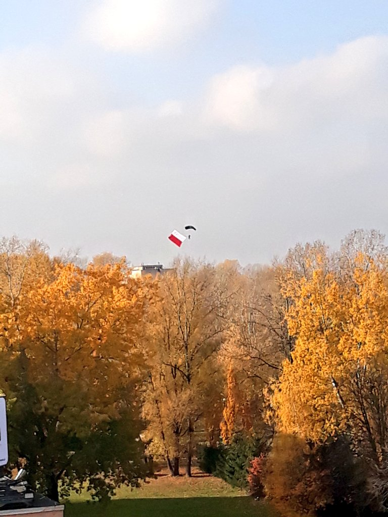 #OTD #Poland🇵🇱 celebrates #IndependenceDay2019.Look at the visual performance ⬇️It's about #HistoricalDiplomacycombined with #PublicDiplomacy (addressed to both domestic & foreign audiences).