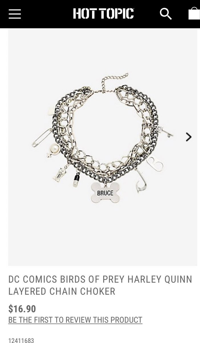 Harley Quinn Updates On Twitter Hot Topic Is Now Selling Harley S Bruce Choker From Birdsofprey Https T Co Ms94oijjo5