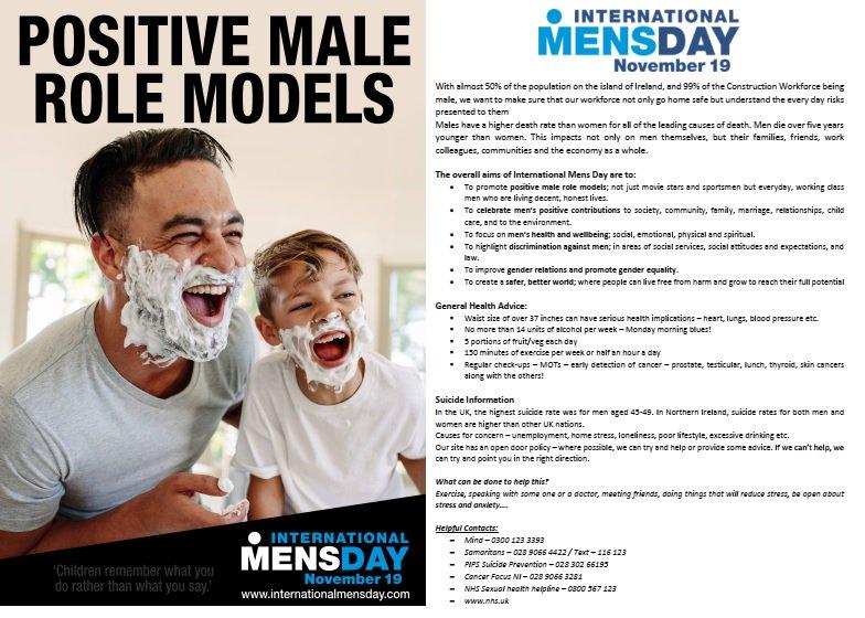 Thanks to @McAleerRushe for their entry on #InternationalMensDay : http://bit.ly/McAleerAndRushe15… #ccshub #loveconstruction