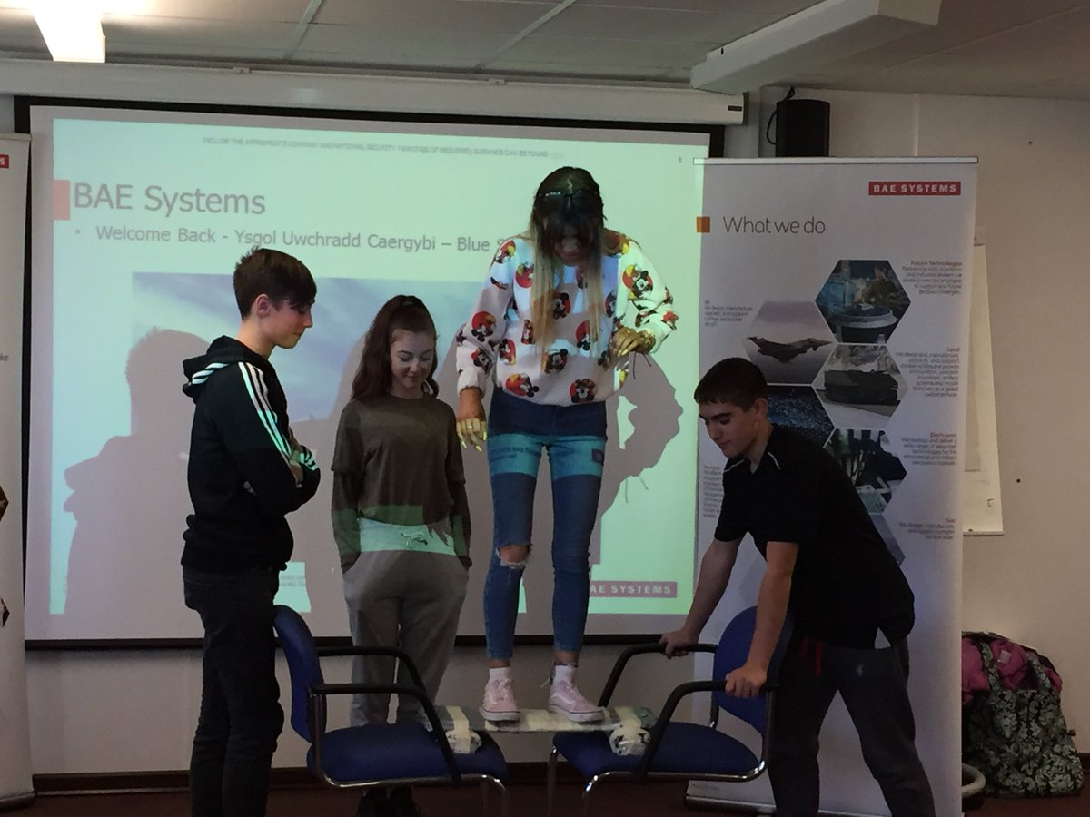 BAE Systems Ambassadors at RAF Valley @RAF_Valley @RAFValleyStnCdr @JonEggingTrust @BAESystemsAir  hosted a STEM workshop on National STEM Day (Friday 8th November) for 14 Level 2 students who are on the Jon Egging Trust programme #STEM #JONEGGING #NationalSTEMDay #teamwork<br>http://pic.twitter.com/mWmE9DHssS