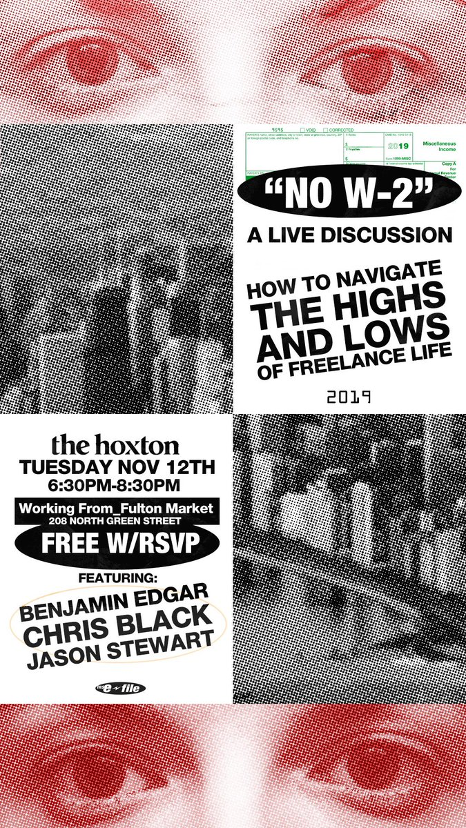 Chicago tomorrow night with @donetodeath & @benjaminedgar #panelhive pull up eventbrite.com/e/that-no-w-2-…