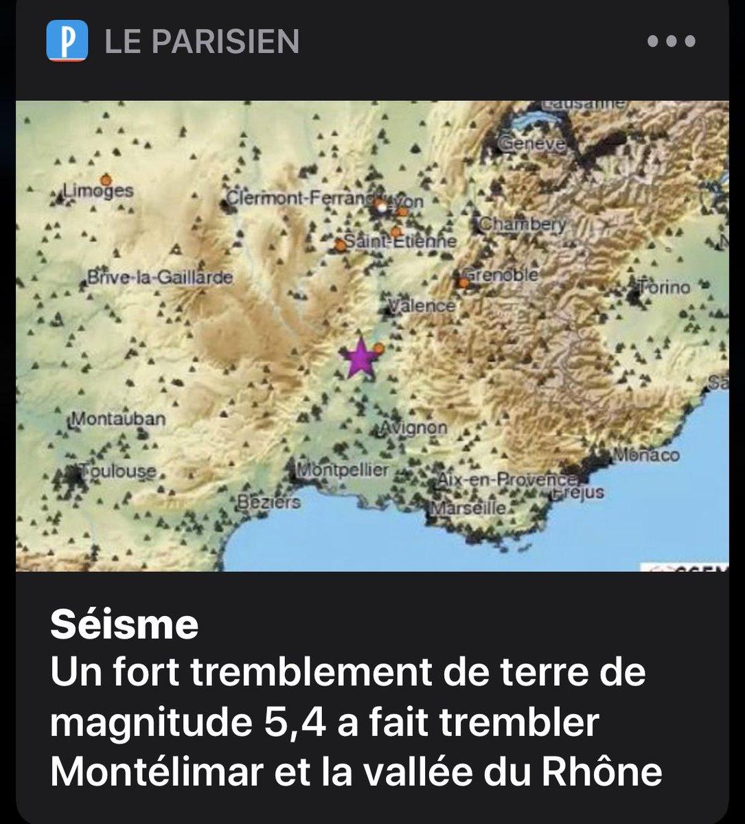 #tremblementdeterre On vit dans un nid nucléaire ☢️, la région lyonnaise est l'une des plus nucléarisée de l'hexagone, ça sent pas bon !!!