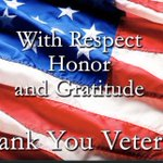 Image for the Tweet beginning: Thank you Veterans for your