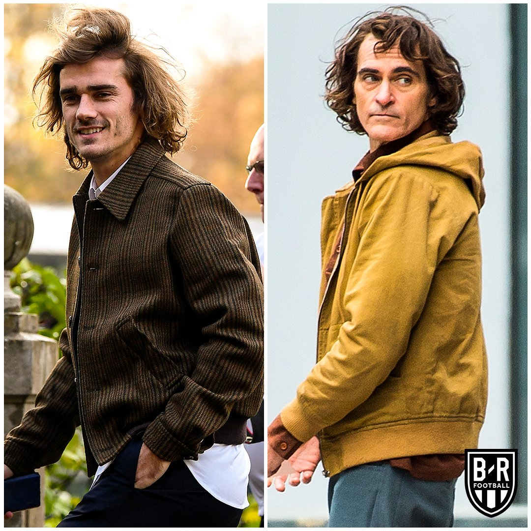Not sure if Antoine Griezmann or Arthur Fleck? 👀 #Joker