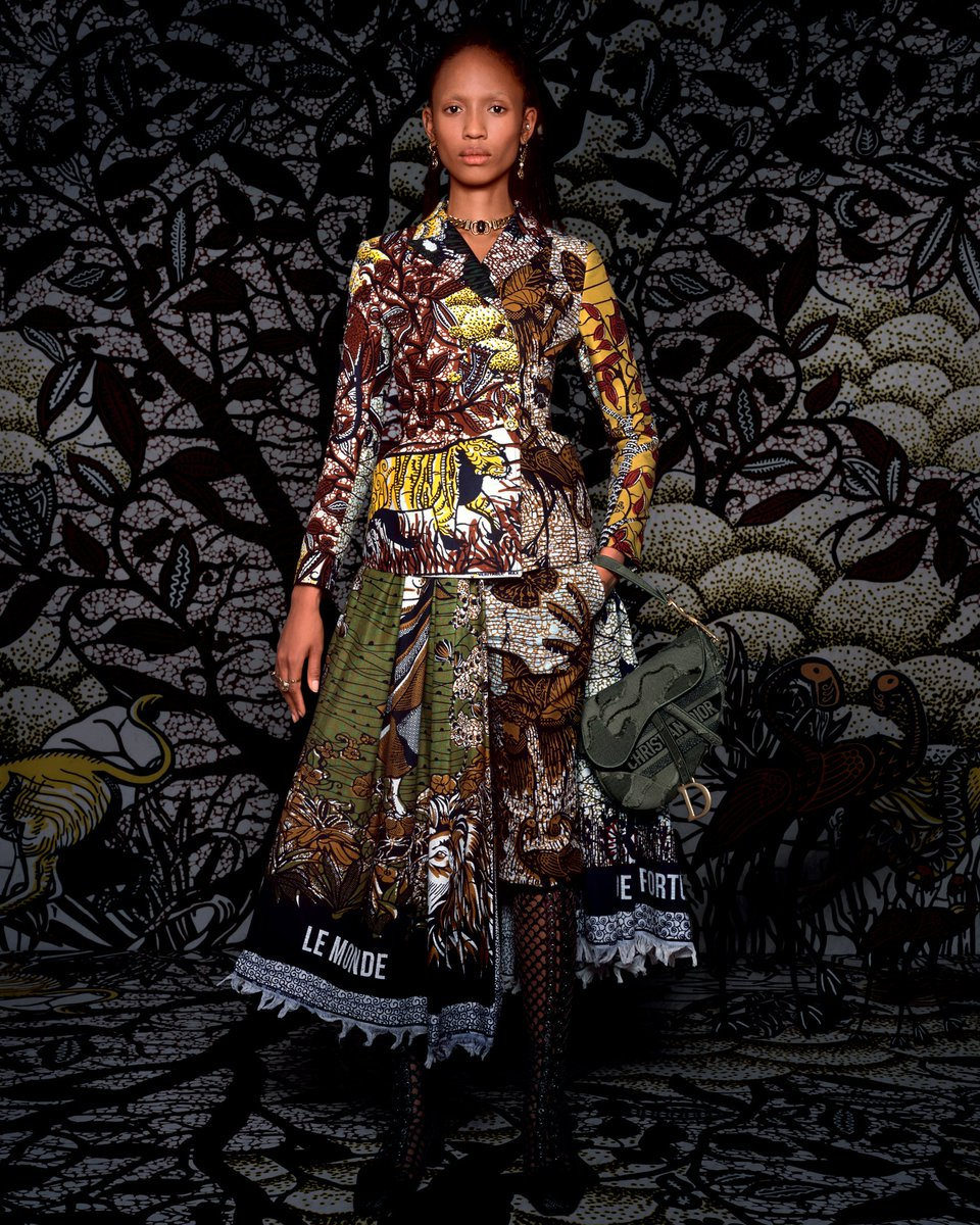 Dont miss the newest edition of the classic toile de Jouy in the #DiorCruise 2020 collection on.dior.com/cruise2020. Maria Grazia Chiuri transposes her inspiration, the Baobab tree, as a symbol of eternity revealing the strength of nature embodied in the tree of life.