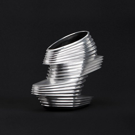 The NOVA Shoe by Zaha Hadid for United Nude - inspired by Hadid's Galaxy Soho architecture in Beijing