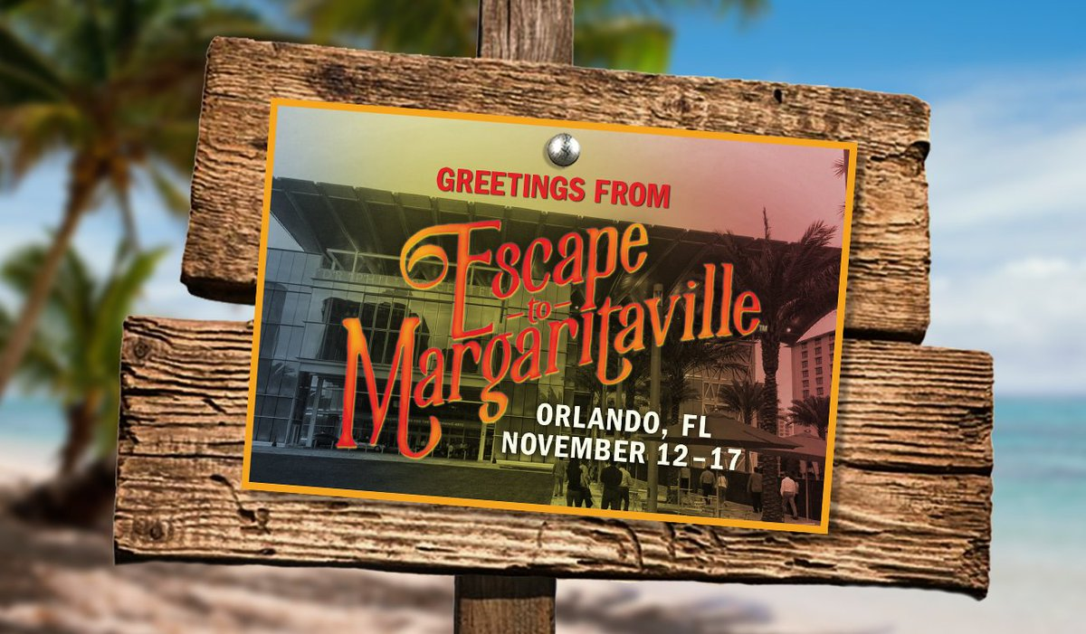 Where are our Orlando Parrotheads? 👋🏼 Were setting sail in your city tomorrow. Tickets at EscapeToMargaritavilleMusical.com. ⛵️
