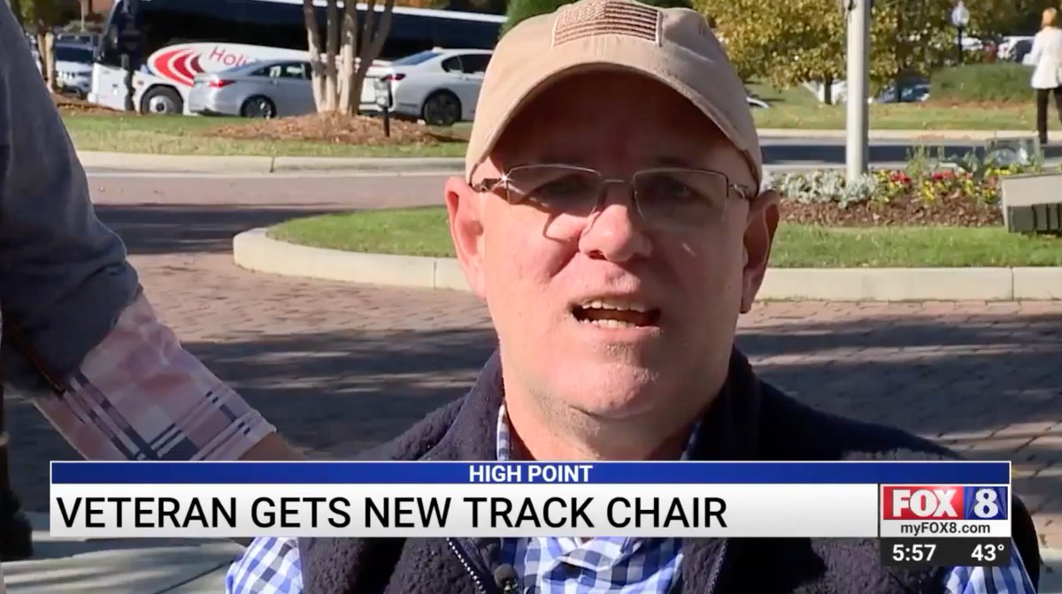 🎥 WATCH! 👀 HPU in the news! See how @HighPointKA is changing the life of a local veteran. ❤️💙 #HPU365 #HPUCares