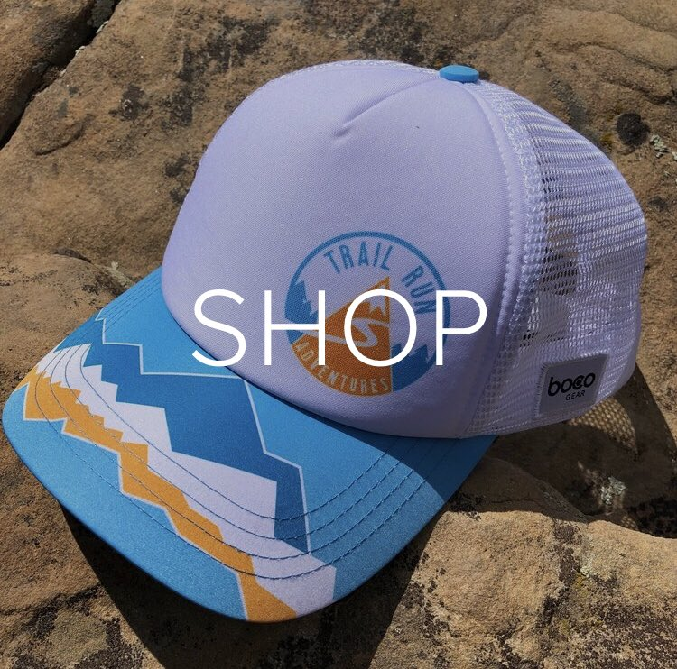You can now buy one of these sweet trucker hats here: trailrunadventures.com/shop @BocoGear
