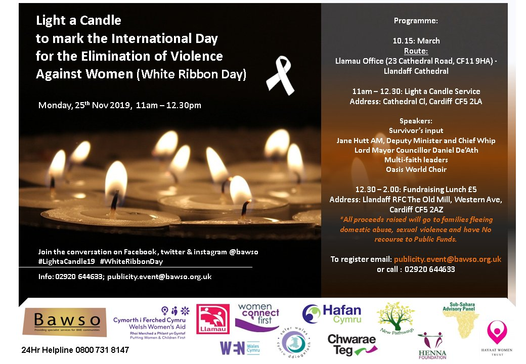 Come March with us 25th November as we Mark International Day For Elimination of Violence Against Women.