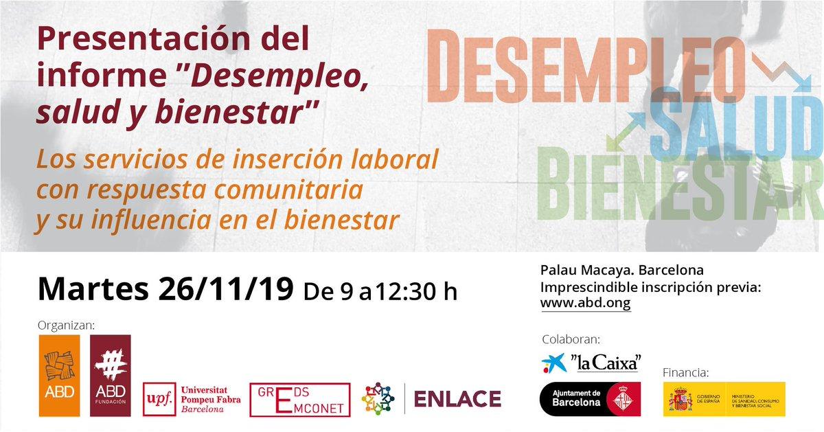 test Twitter Media - ¿Las intervenciones comunitarias pueden mejorar la salud de las personas sin #trabajo? #desempleo #paro   El 26 de noviembre presentaremos un estudio sobre el paro de larga duración en Barcelona.  📆 26/11 📌 Palau Macaya  Inscríbete aquí ➡️ ➡️ https://t.co/0KuagyKCbt https://t.co/yyK7hGl2mC