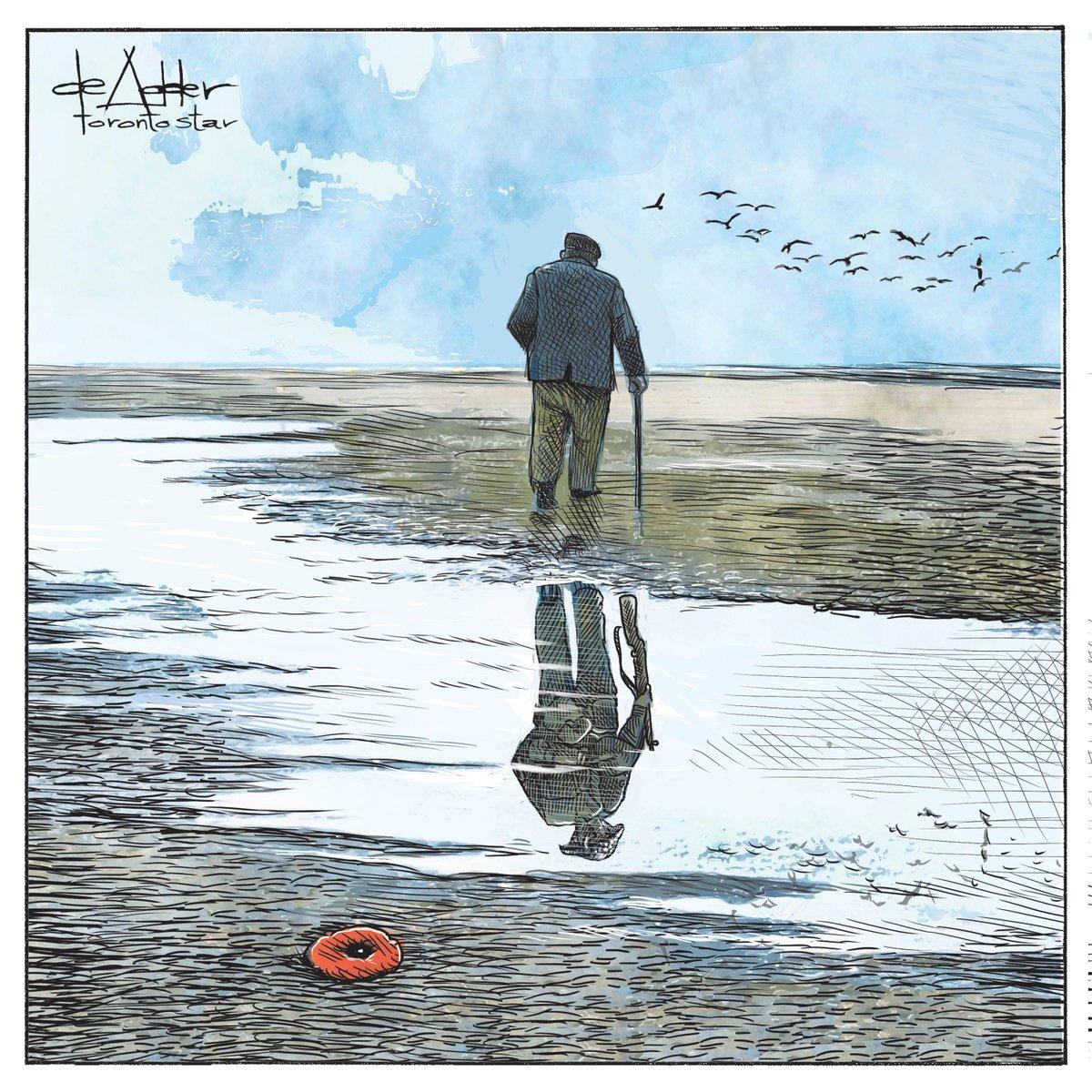 Cartoon for @TorontoStar #LestWeForget #RemembranceDay #RemembranceSunday #RemembranceDay2019 #VeteransDay