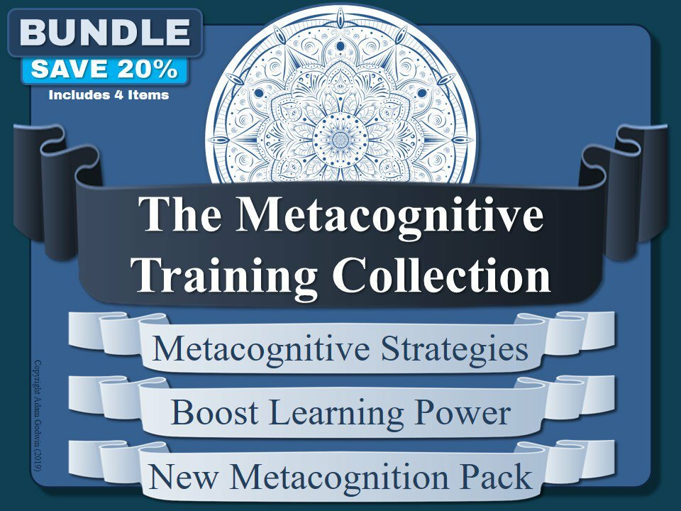.-->  http://bit.ly/2JluJa7   <--. Get 30% OFF today with voucher: TwitterCODE -- Foster metacognition in your students with our pack of resources! #Metacognition  #GrowthMindset  #Teachers  #Education  #Metacognititve  #LearningPower  #TeacherChat  #SLTchat  #T…