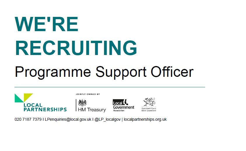 🙌 We're recruiting!🙌  We're looking for a Programme Support Officer to join our London Office.  More information and apply here: https://t.co/LckKRh2pf6  #LocalGov #Recruitment