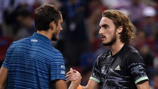 ATP Finals. Циципас впервые в карьере обыграл Медведева