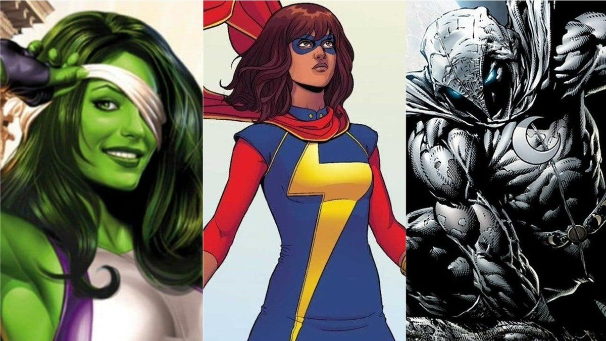 Kevin Feige has confirmed that She-Hulk, Ms. Marvel, and Moon Knight will appear in MCU movies after their Disney+ debut. bit.ly/33zGwbe