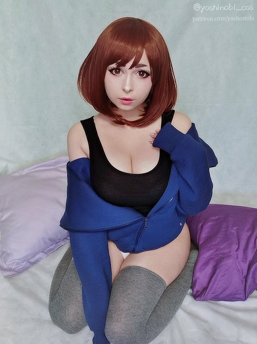 コスプレイヤーYoshinobi-chan!! のTwitter自撮りエロ画像21
