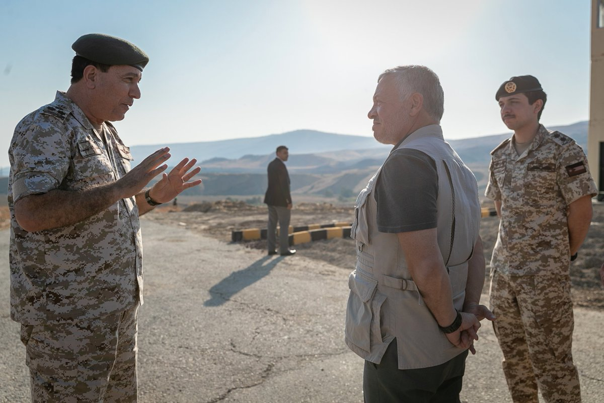 Jordan's King Abdullah visits enclave formerly leased to Israel