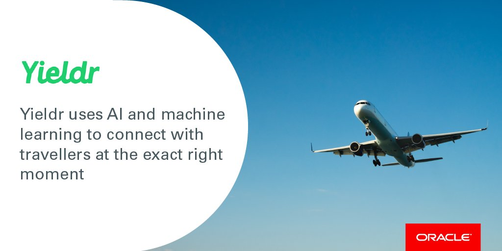 Making your #flight as pleasant as possible is important to @yieldr as they can now focus all their attention and #resources on you. ✈️👍 Find out how: oracle.com/customers/yiel…