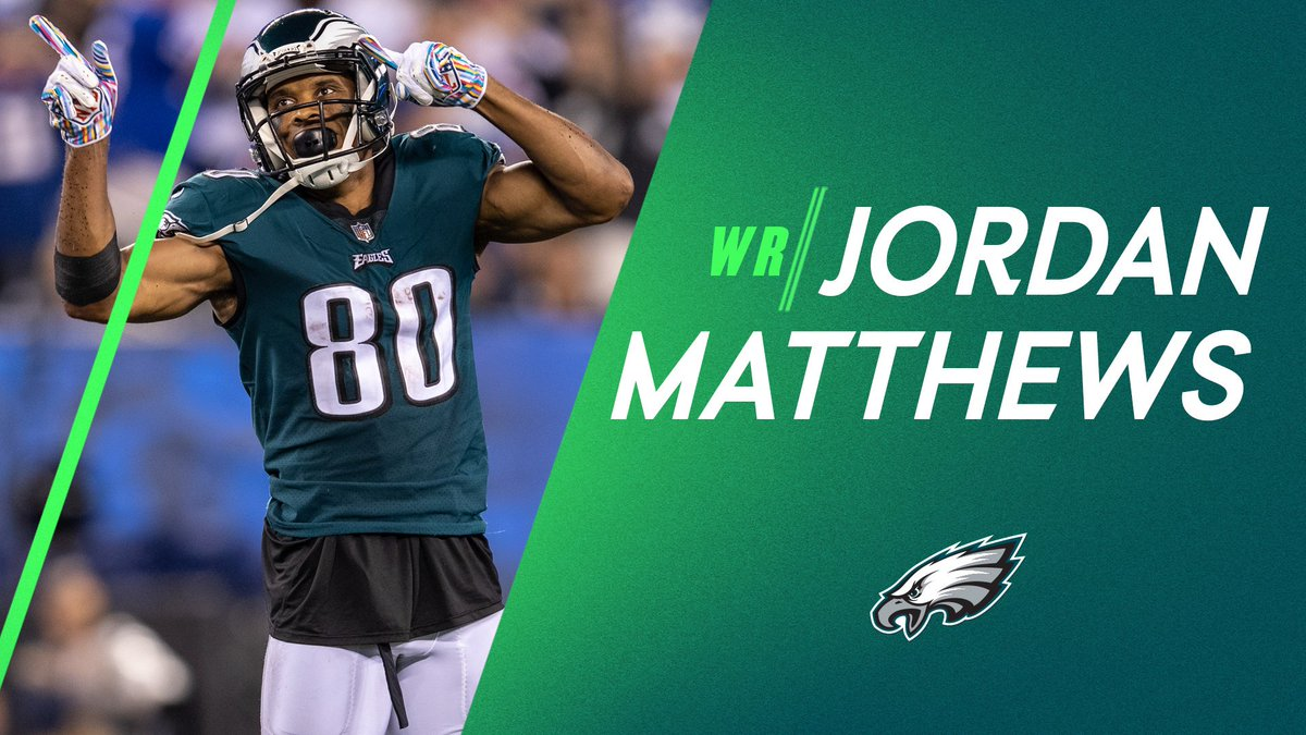 Philadelphia Eagles sign Jordan Matthews