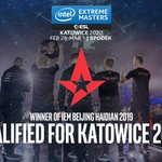 Image for the Tweet beginning: 🏆Congrats @astralisgg! By winning #IEM