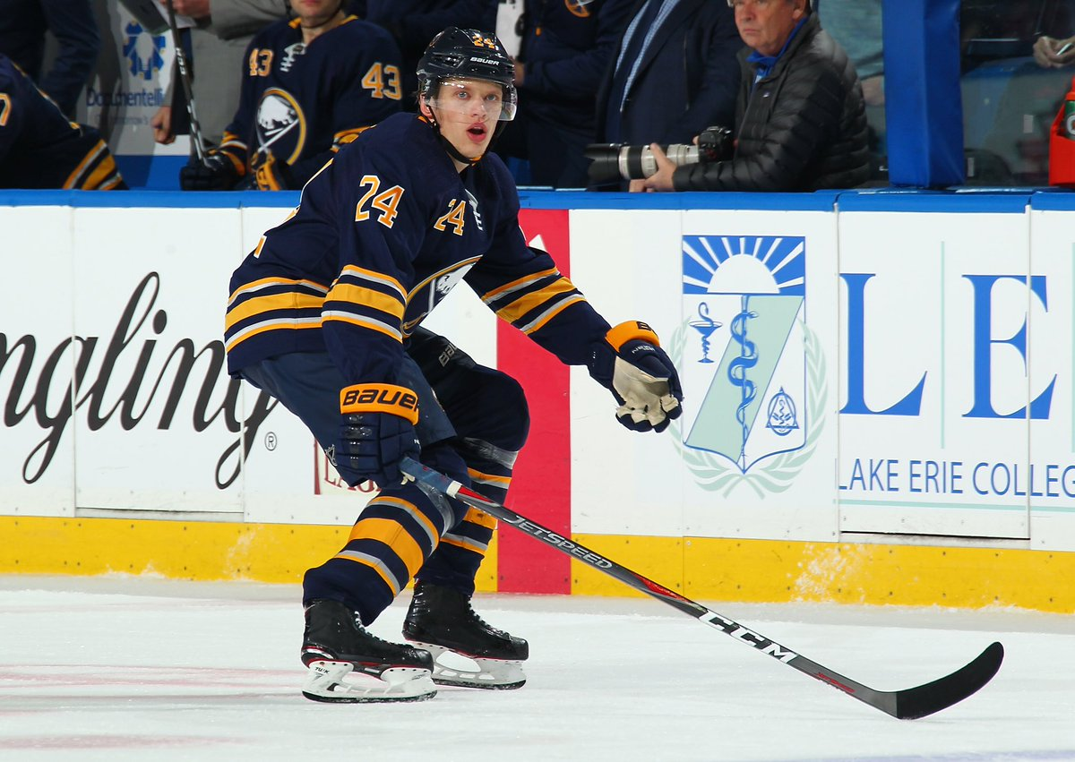 We have assigned Lawrence Pilut to @AmerksHockey. Details: bufsabres.co/bnGFPu