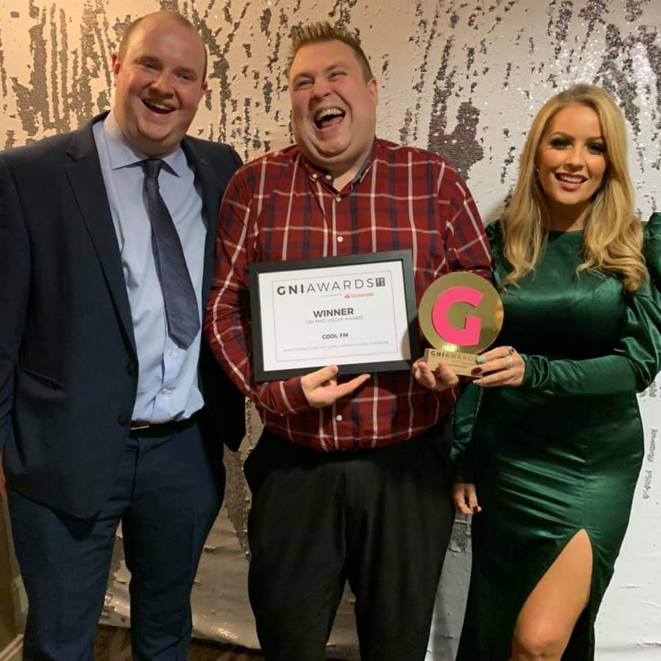 At Bauer Media Group – NI, we were delighted to be winners of the @gnimag Media Award 2019. We are proud to be recognised for our support of the LGBTQ+ community - with our stations credited with 'unbiased coverage of gay issues with up-to-date information' #GNIAwards
