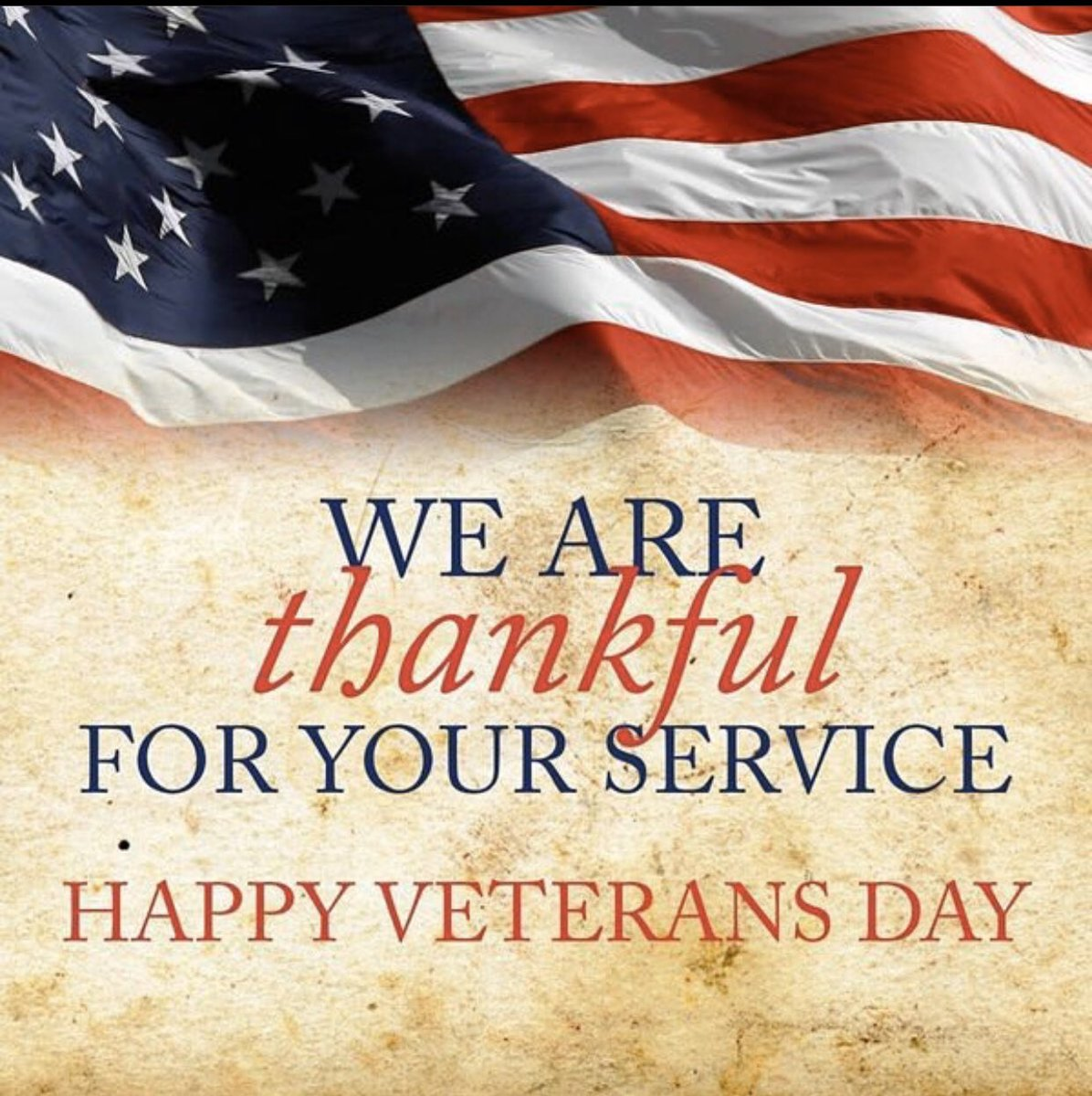 Your service will always be remembered and appreciated! Happy Veterans Day! #BisonStrong  #VeteransDay