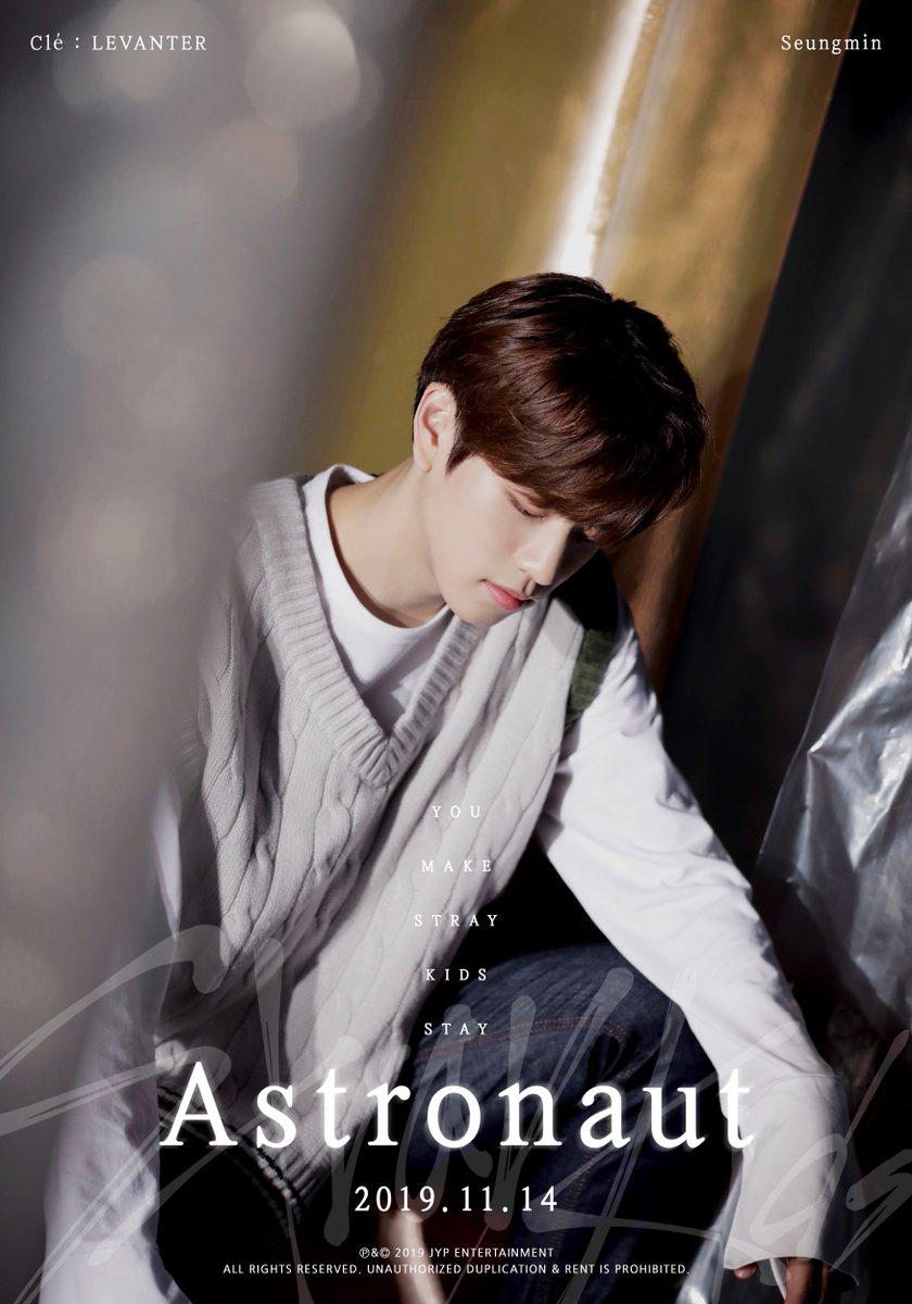 Stray Kids(스트레이 키즈) Astronaut TEASER IMAGE #승민 #Seungmin 2019.11.14 THU #StrayKids #스트레이키즈 #Clé_LEVANTER #Astronaut #YouMakeStrayKidsStay