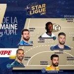 Image for the Tweet beginning: The best 7 @LidlStarligue...well deserved